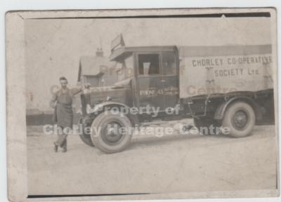 Motor Transport Co-op Wagon