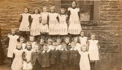 Euxton St Mary's RC School Photo c.1907-08