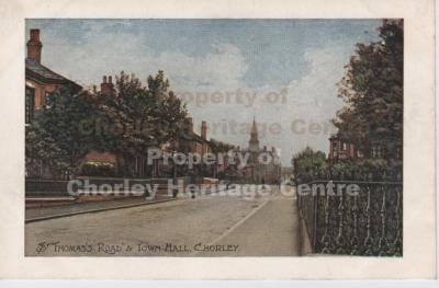 St Thomas's Road, Chorley
