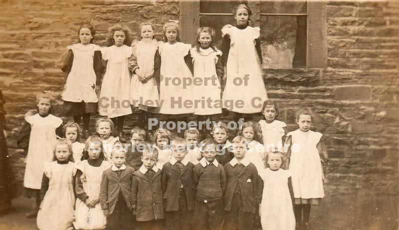 Euxton St Mary's RC School Photo c.1907-08 | www ...